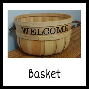 Other - Cute 'Welcome' Basket